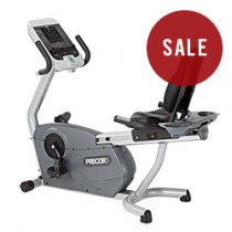 Precor 846i Experience Line Recline Exercise Bike
