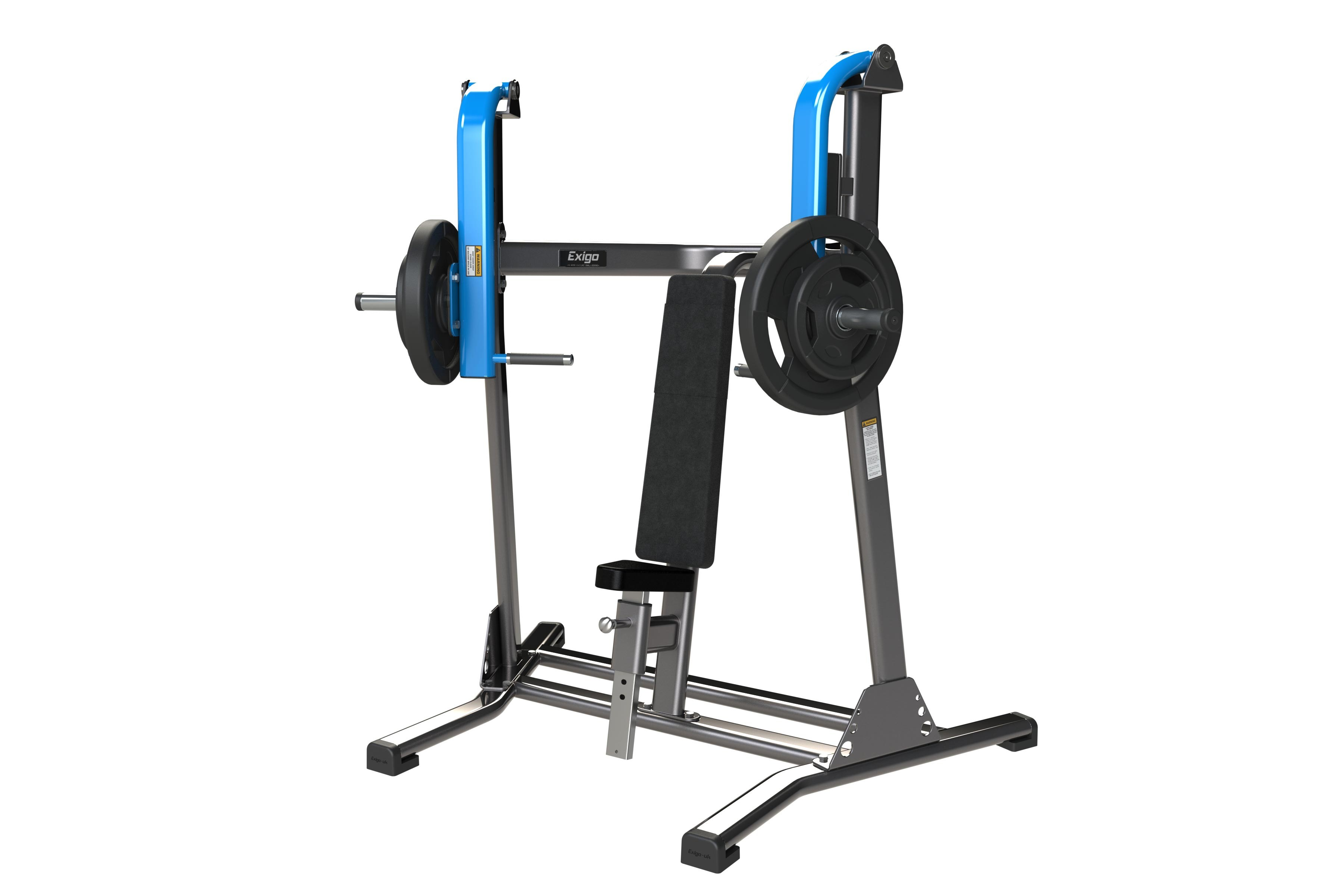Iso-lateral Dumbbell Incline Bench Press Part - 36: Gymkit UK