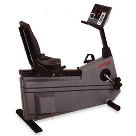 Life Fitness Lifecycle 9100 Recumbent Bike For Sale