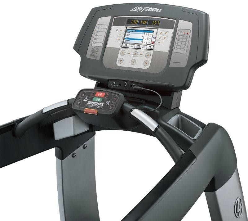 "Life Fitness 95T Treadmill | Elevation series | Inspire 7"" LCD"