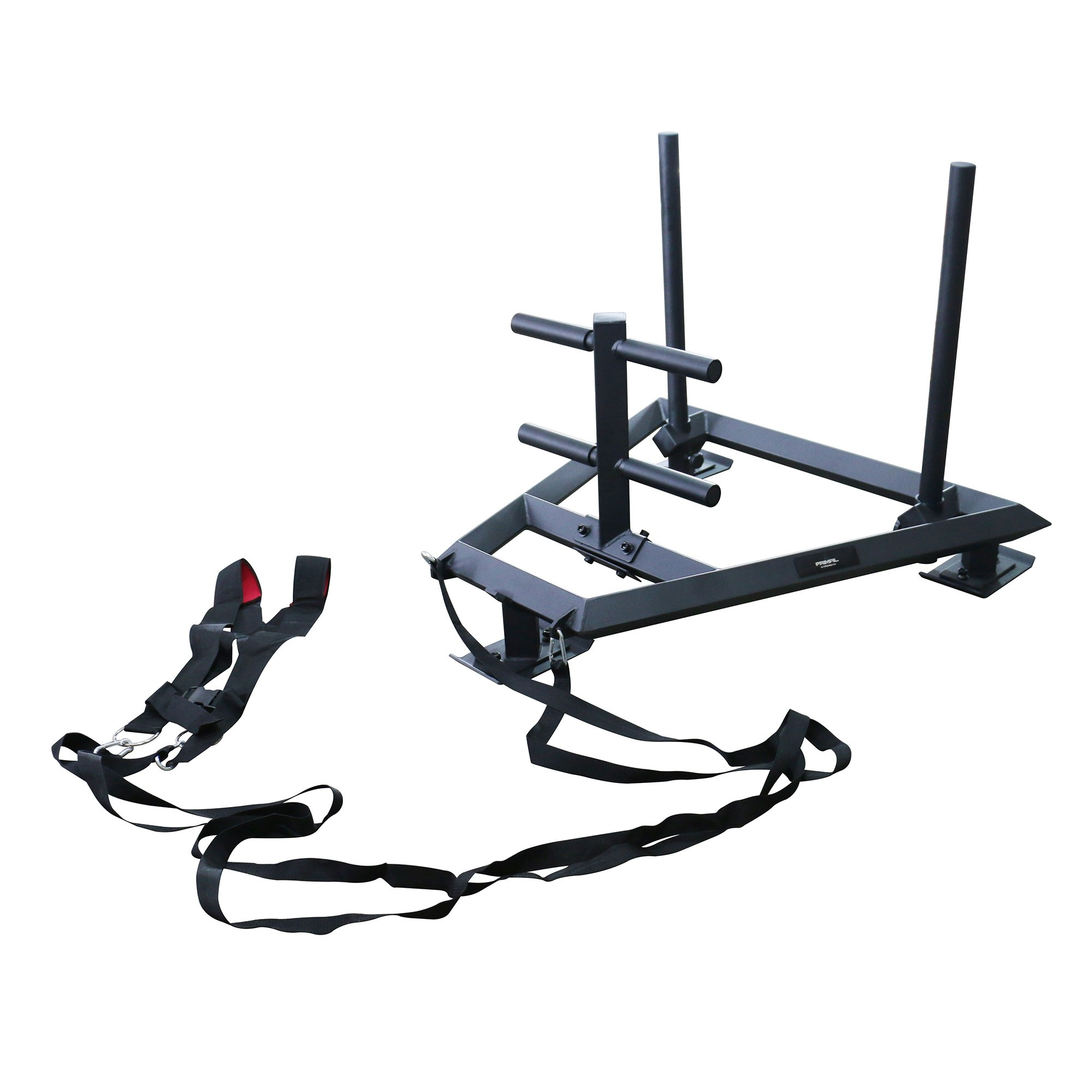 Primal Strength Stealth Commercial Fitness Premium Prowler Sled (Matte Black) - PRE ORDER FOR APRIL
