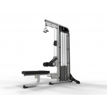 Exigo selectorised Lateral Pulldown / Low Row Combination