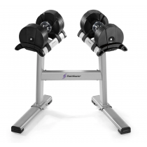 Stairmaster TwistLock Dumbbells & Stand