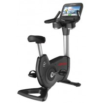 Life Fitness Elevation Series Discover SE Upright Bike - Arctic Silver