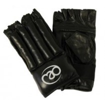 TMG Leather Fingerless Gloves