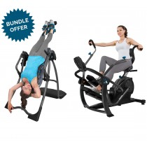 Teeter FitSpine LX9 Inversion Table & Free Step Bundle