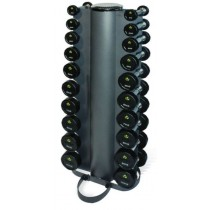 PHYSICAL COMPANY 10 PAIR VERTICAL DUMBBELL RACK (EMPTY)