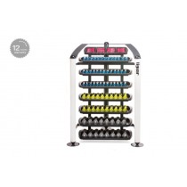 Tiguar dumbbells rack (graphite/white)