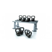 Escape 8Kg - 24Kg Cast Iron Kettlebells Set with Rack and Wall Chart