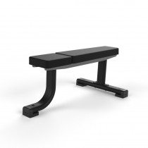 Jordan Fitness Black Flat Bench