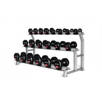 Jordan 10 Pair Dumbbell Rack (3 tier)