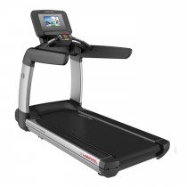 Life Fitness Discover SI Treadmill with TV tuner - Arctic Silver