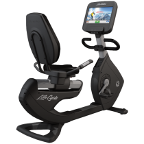 Life Fitness Elevation Series Discover SE Recumbent Bike w/Handlebar