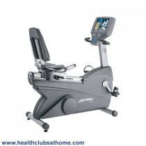 Life Fitness 95RE Recumbent Refurbished Exercise Bike