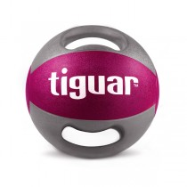 Tiguar medicine ball 5 kg (purple/grey)