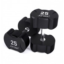 Jordan Ignite Rubber Dumbbells (See Options)