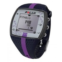 POLAR FT7F HEART RATE MONITOR TRAINING COMPUTER | BLUE & LILACK