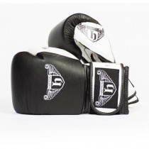 HATTON PRO SPARRING LEATHER VELCRO GLOVE (PAIR)