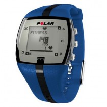 POLAR FT7M HEART RATE MONITOR TRAINING COMPUTER | BLUE & BLACK
