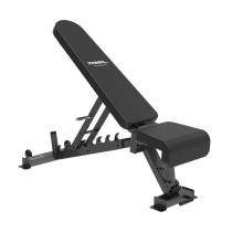 Primal Strength Commercial Adjustable Bench Gloss Black - DELIVERY LATE MARCH