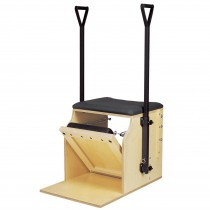 Peak Pilates Single Pedal Low Chair with Handles & Brackets