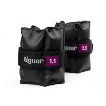 Tiguar ankle weights 1,5 kg pair (purple)