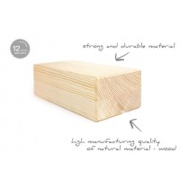 Tiguar yoga block wooden