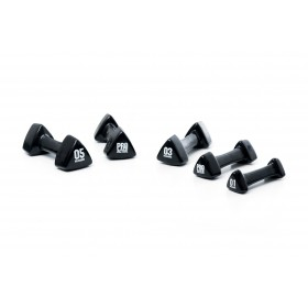 PROACTIVE Vinyl Dipped Studio Handweights (Available in 1kg - 5kg weights)