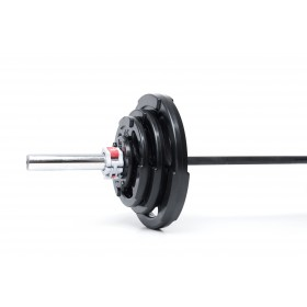 PROACTIVE Rubber Olympic Grip Plates (Available in 1.25kg - 25kg weights)