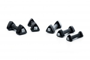 PROACTIVE Studio Handweights (Available in 1kg - 5kg weights)