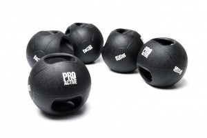 PROACTIVE Double Grip Medicine Ball (Available in 6kg - 10kg weights)