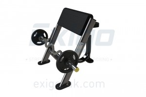 Exigo Seated Preacher Curl Bench