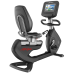 Life Fitness Discover SI Recumbent Bike w/Handlebar - Arctic Silver