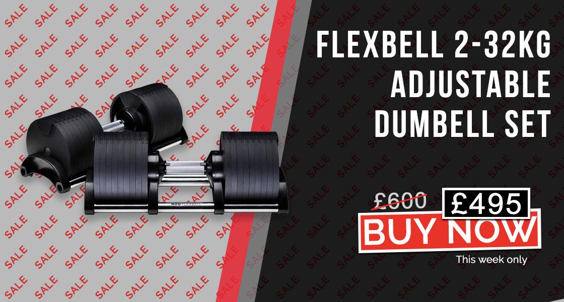 Flexbell Adjustable Dumbbell