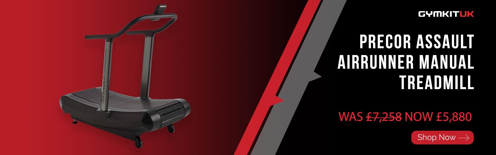 Precor Assault AirRunner Manual Treadmill