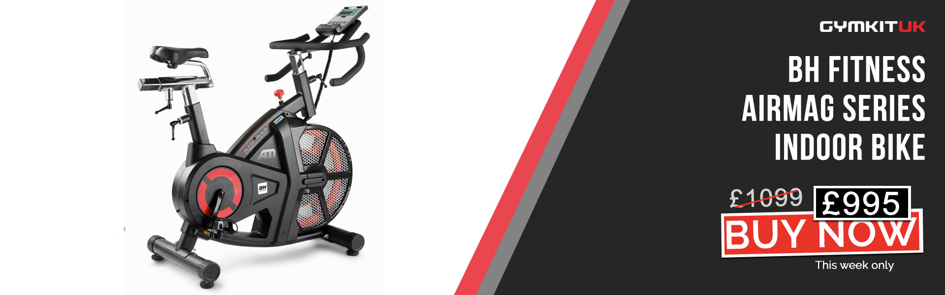 BH Fitness Airmag Indoor Bike