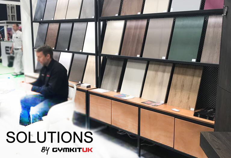 Gym flooring on offer from Solutions by Gymkit UK