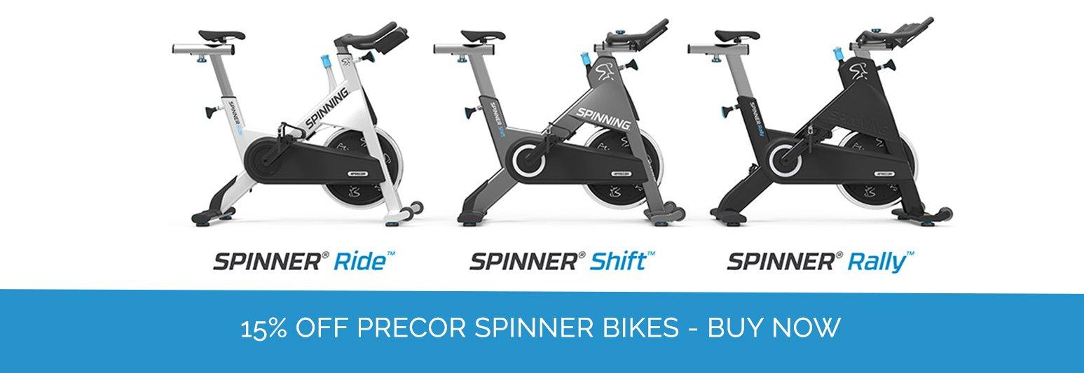 Precor Spinner Bikes