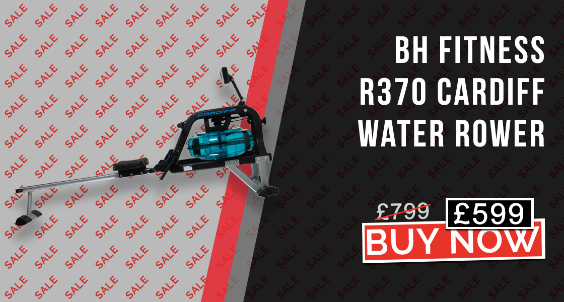 BH Fitness R370 Cardiff Water Resistance Rower