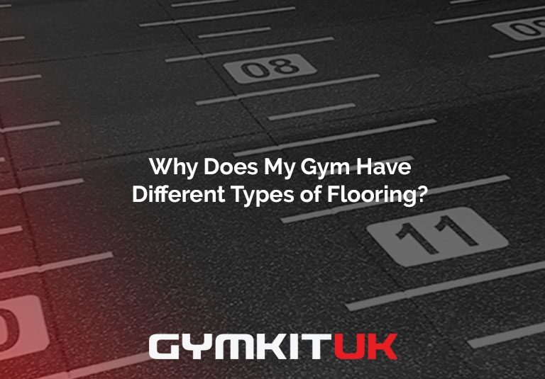 Why Does My Gym Have Different Types of Flooring?