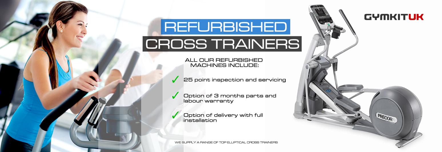refurbished cross trainers