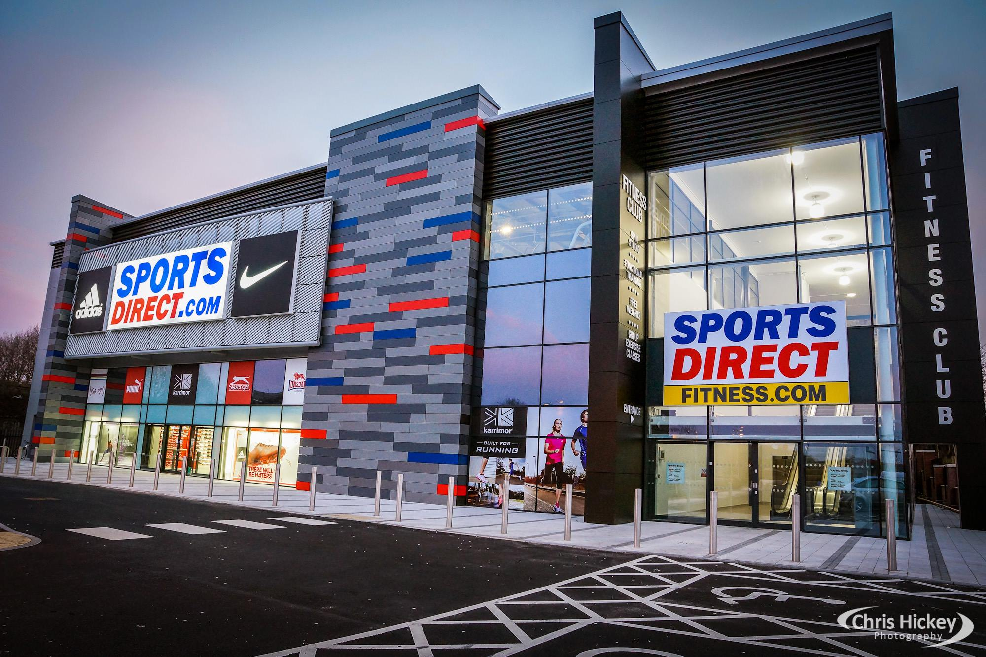 Sports Direct Aintree Gymkit Uk Solutions