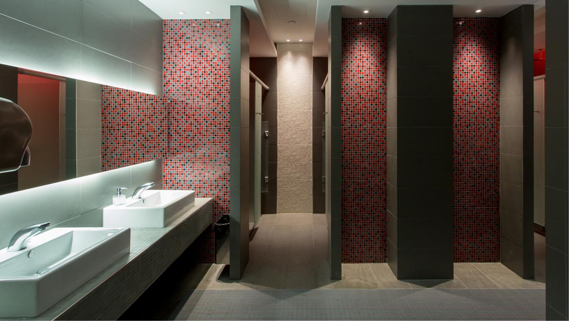 Shower toilet cubicles gymkit uk solutions