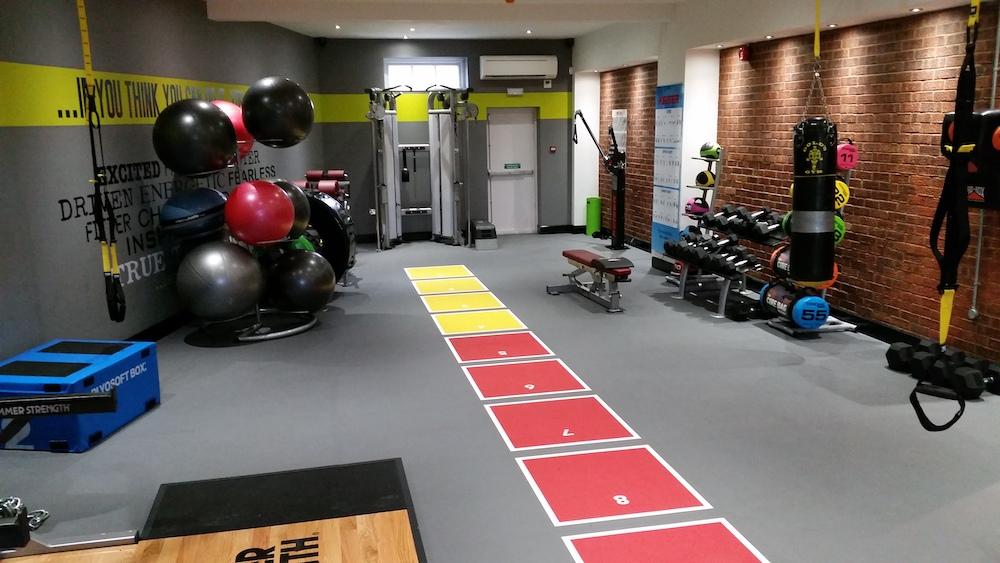 Sprint Tracks Gym