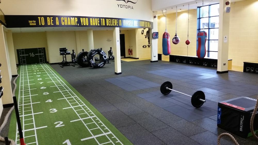 Indoor Sprint Tracks Gym