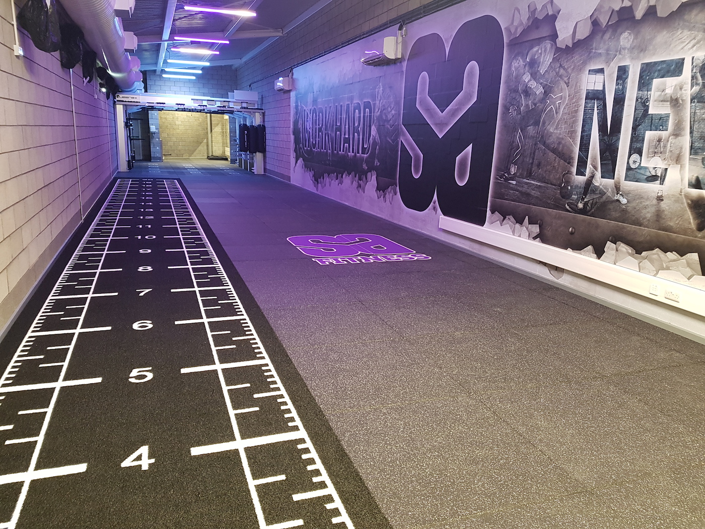 Indoor Sprint Tracks Gym